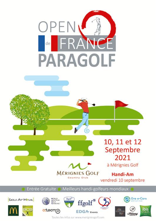 Open de France Paragolf, 9ème édition à Mérignies