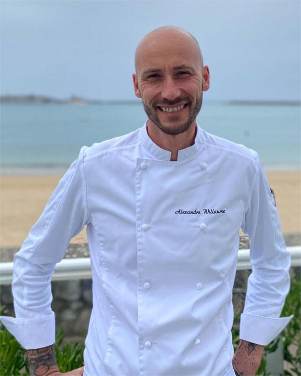 אלכסנדר וילאום, שף צמחוני חדש במלון גרנד הוטל דה סן ז'אן דה לוז