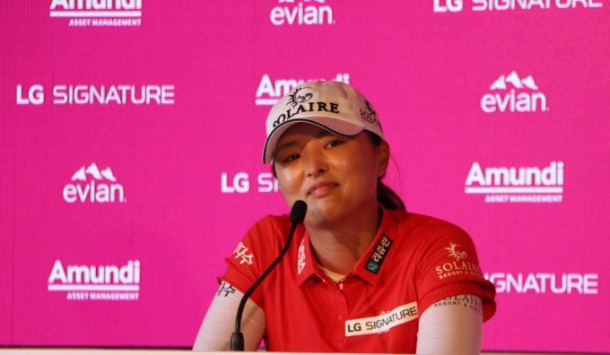Jin Young Ko, championne en titre à Evian et star EA Sports