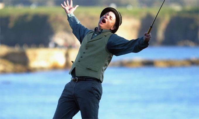 ביל מאריי משתלט על אירלנד בסדרות גולף חדשות של YouTube