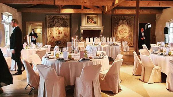 Réception au Château Kirwan