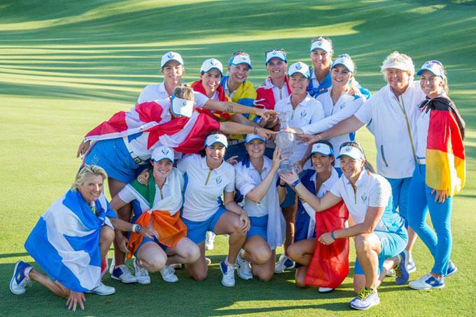 Solheim Cup : l'Europe conserve son titre!