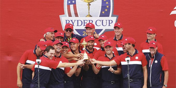 Ryder Cup 2020 : victoire historique des États-Unis