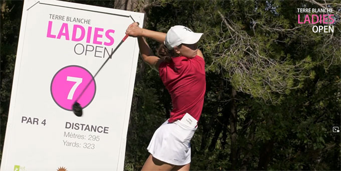 Terre Blanche Ladies Open : Cappeliez et Alonso dans le top 5