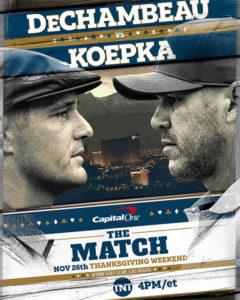 The Match : Koepka vs DeChambeau
